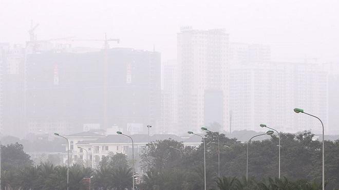 Chùm ảnh: Sương mù dày đặc, người dân thủ đô ngỡ như đang ở Sapa - Ảnh 12