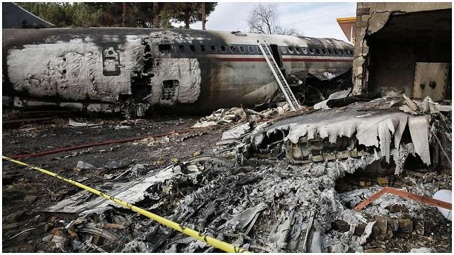 Máy bay Boeing 707 rơi ở Iran, ít nhất 15 người thiệt mạng  - Ảnh 8