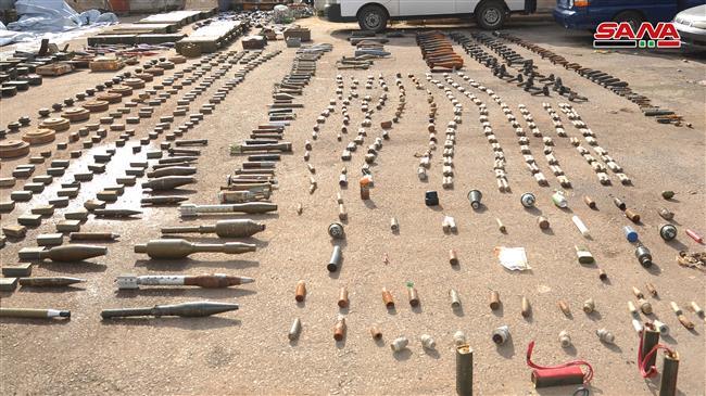 Nga phát hiện kho vũ khí bí mật số lượng lớn của khủng bố ở Syria - Ảnh 2