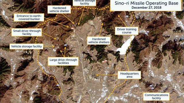 Phát hiện 20 căn cứ tên lửa đạn đạo bí mật của Triều Tiên - Ảnh 1