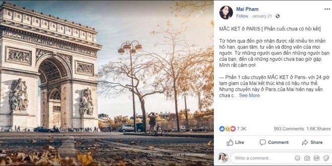 Nữ công dân Việt Nam bị bắt tại Pháp: Bộ Ngoại giao lên tiếng - Ảnh 2