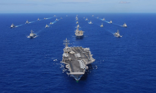 """So sánh sức mạnh hải quân Mỹ-Trung : Ai xứng đáng trở thành """"bá chủ"""" Thái Bình Dương? - Ảnh 1"""
