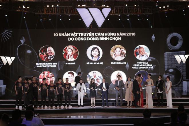 """WeChoice Awards 2018: Lộ diện chủ nhân của những giải thưởng """"lạ"""" - Ảnh 1"""