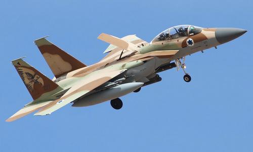 """""""Đại bàng bất bại"""" F-15 của Israel bung nắp buồng lái ở độ cao 9.000m - Ảnh 1"""