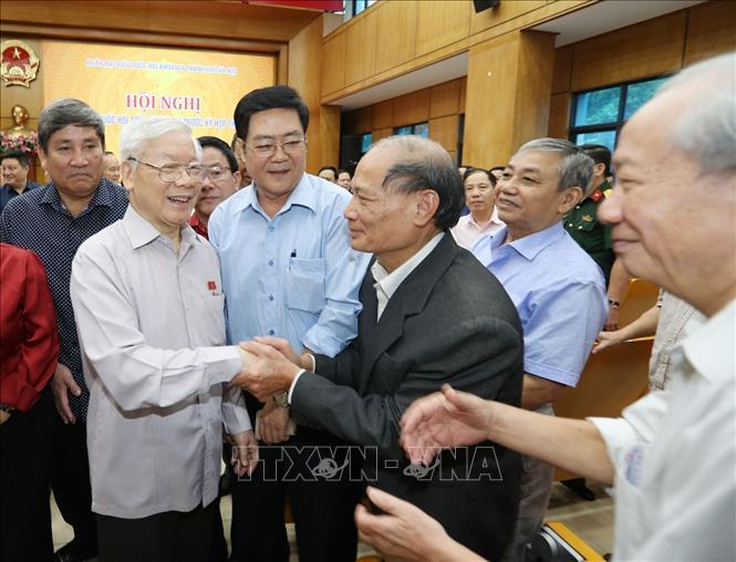 Tổng Bí thư, Chủ tịch nước Nguyễn Phú Trọng: Giữ vững nguyên tắc độc lập chủ quyền, toàn vẹn lãnh thổ - Ảnh 2