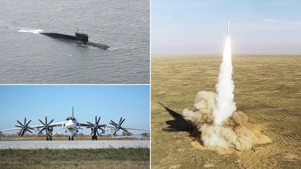 """Cận cảnh màn phô diễn sức mạnh của bộ 3 """"sát thủ"""" trong dàn vũ khí hạt nhân Nga - Ảnh 1"""