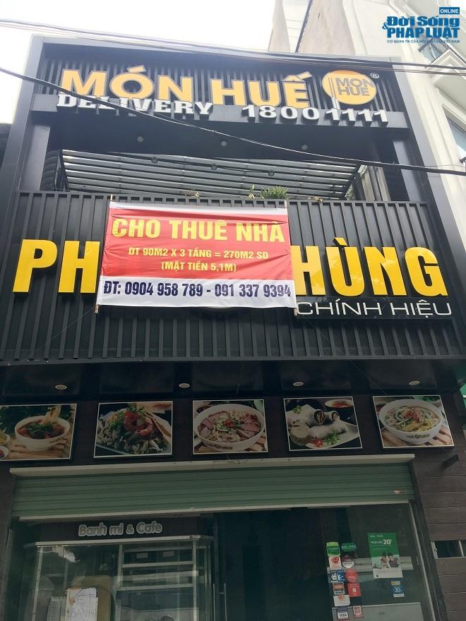Khung cảnh tan hoang tại chuỗi nhà hàng Món Huế ở Hà Nội trước thông tin trốn nợ  - Ảnh 7