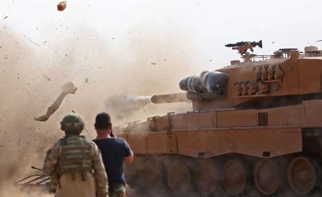 Đụng độ dữ dội với Thổ Nhĩ Kỳ tại biên giới, 6 binh sỹ Syria thiệt mạng  - Ảnh 1