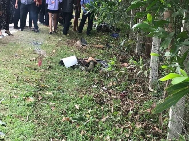 Hà Tĩnh: Sau cú va chạm kinh hoàng với xe bán tải, cặp vợ chồng tử vong tại chỗ  - Ảnh 3