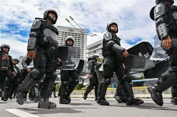 Cảnh sát Indonesia phá tan âm mưu đánh bom hàng loạt trung tâm thương mại tại thủ đô Jakarta - Ảnh 1