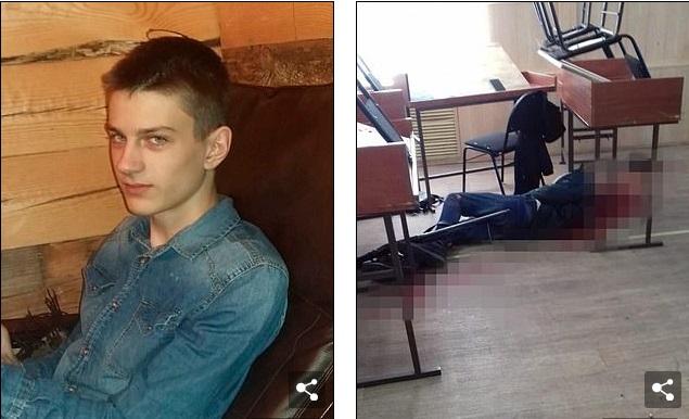Xả súng kinh hoàng ngay trong lớp học ở Nga, 2 sinh viên thiệt mạng - Ảnh 1
