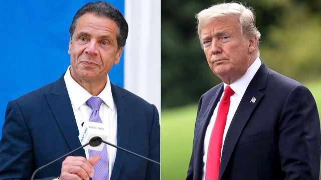 Thống đốc New York tuyên bố sốc sau khi ông Trump chuyển nơi cư trú sang Florida - Ảnh 1