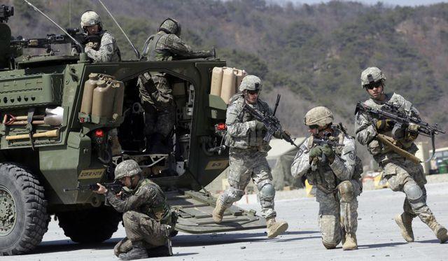 Tổng thống Trump cân nhắc rút hàng ngàn binh lính khỏi Hàn Quốc  - Ảnh 1