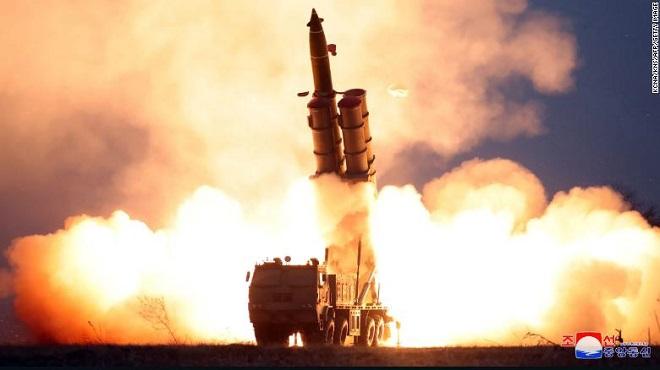 Triều Tiên xác nhận thử tên lửa đa nòng siêu lớn dưới sự chỉ đạo của ông Kim Jong-un - Ảnh 2