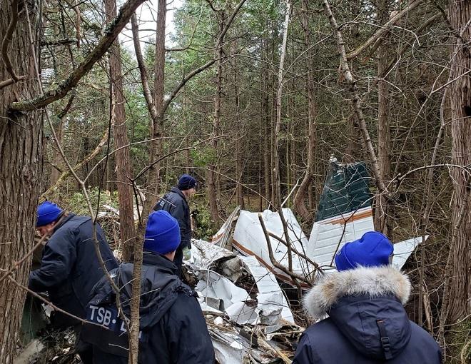 Tai nạn máy bay kinh hoàng tại Canada, cả gia đình 5 người thiệt mạng  - Ảnh 1