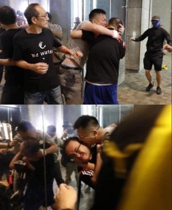 Tấn công dao giữa cuộc biểu tình, nhiều người bị thương - Ảnh 1