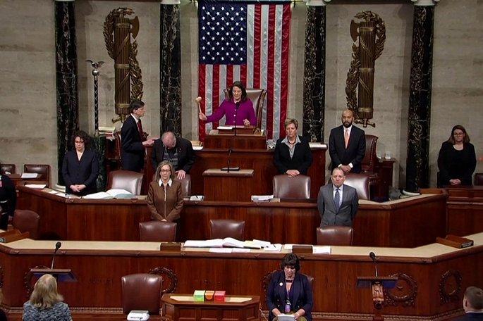 Tranh luận gay gắt tại Hạ viện Mỹ trước giờ bỏ phiếu luận tội Tổng thống Trump - Ảnh 1
