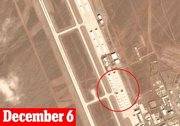 Xuất hiện hàng loạt vật thể lạ nghi máy bay chiến đấu tại căn cứ tuyệt mật của Mỹ - Ảnh 1