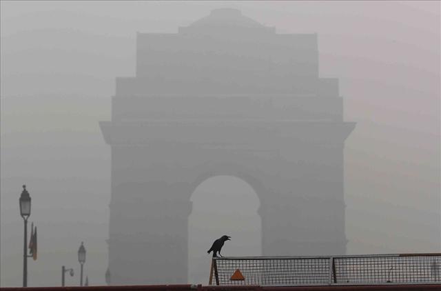 Cận cảnh thủ đô của Ấn Độ chìm trong khói bụi nghiêm trọng, người dân như hút 50 điếu thuốc một ngày - Ảnh 4