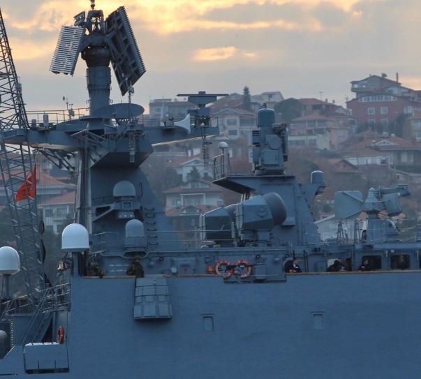 Tàu chiến Nga trang bị tên lửa hành trình hướng tới vùng biển Syria - Ảnh 1