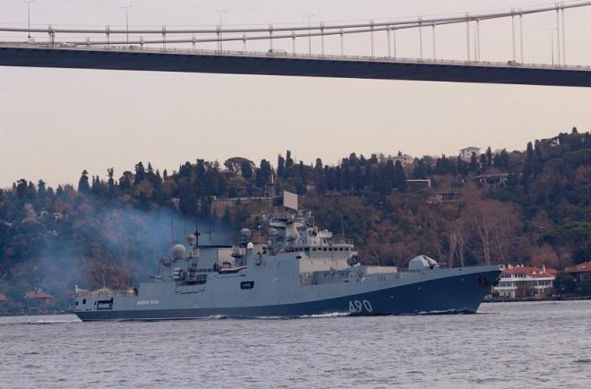 Tàu chiến Nga trang bị tên lửa hành trình hướng tới vùng biển Syria - Ảnh 2