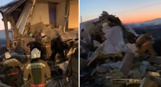 Máy bay chở 100 người lao vào tòa nhà hai tầng, ít nhất 14 người thiệt mạng - Ảnh 5