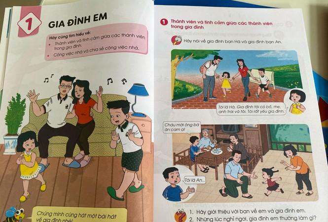 Cận cảnh những trang đầu tiên trong bộ sách giáo khoa mới - Ảnh 2