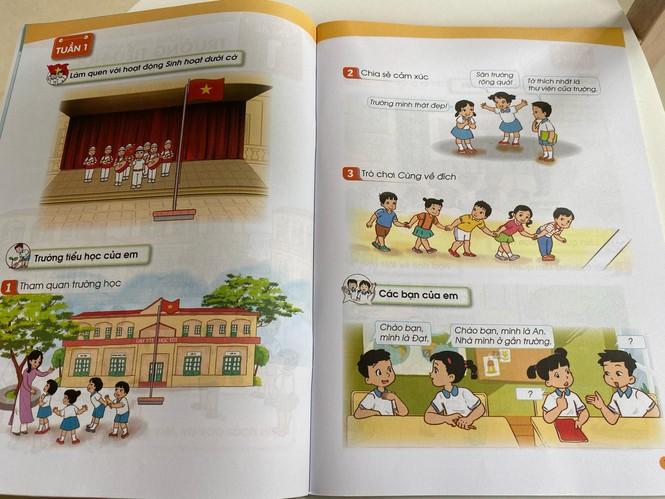 Cận cảnh những trang đầu tiên trong bộ sách giáo khoa mới - Ảnh 5