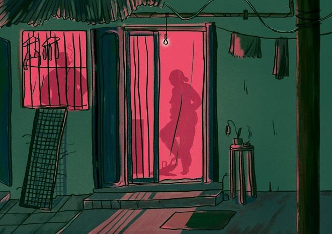 Cuộc sống tạm bợ, đầy tủi nhục của những cô gái trong khu đèn đỏ khét tiếng tại Ấn Độ  - Ảnh 3