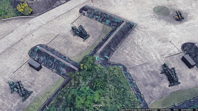 Lộ hình ảnh cơ sở quân sự bí mật tại Đài Loan trên bản đồ trực tuyến của Google - Ảnh 2