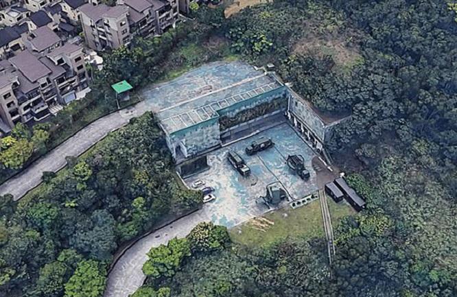 Lộ hình ảnh cơ sở quân sự bí mật tại Đài Loan trên bản đồ trực tuyến của Google - Ảnh 3