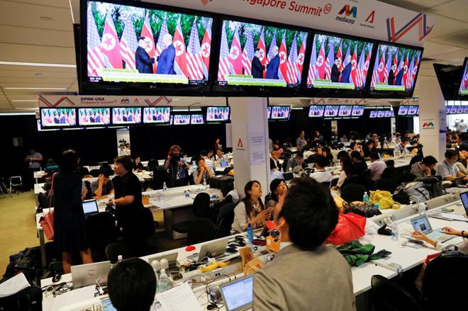 Cung Việt Xô sẽ là trung tâm báo chí quốc tế của Hội nghị Thượng đỉnh Mỹ - Triều - Ảnh 1
