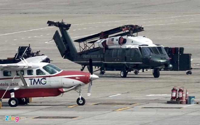 Gấp rút chuẩn bị Hội nghị thượng đỉnh, 'ngựa thồ' C-17 tiếp tục hạ cánh tại sân bay Nội Bài  - Ảnh 10