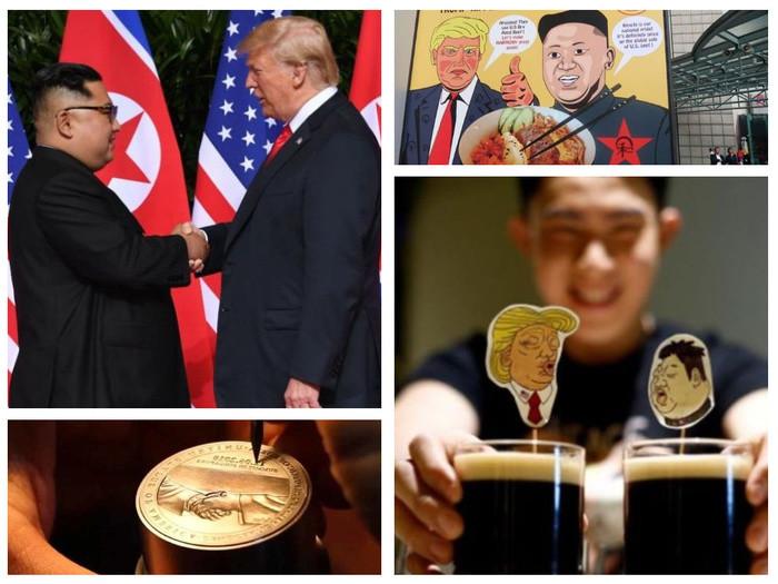 """Người dân Singapore """"hốt bạc"""" nhờ những cách sáng tạo """"ăn theo"""" Hội nghị Thượng đỉnh Mỹ-Triều - Ảnh 1"""