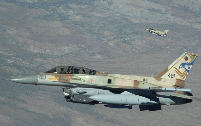 Tiêm kích Israel áp sát biên giới Syria, chuẩn bị cho một trận không kích quy mô lớn? - Ảnh 1
