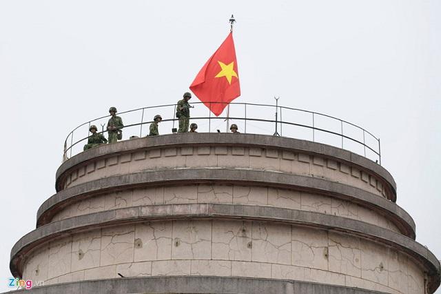 Xe bọc thép chính thức được triển khai trên đường phố Hà Nội trước thềm thượng đỉnh Mỹ-Triều - Ảnh 4