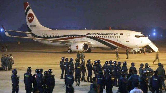 Tiêu diệt không tặc cướp máy bay Bangladesh chở 148 người - Ảnh 1
