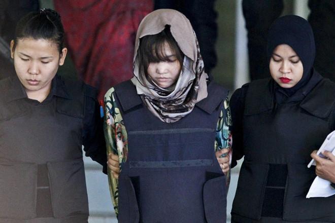 Phản ứng của Đoàn Thị Hương khi nghi phạm Indonesia được phóng thích - Ảnh 2