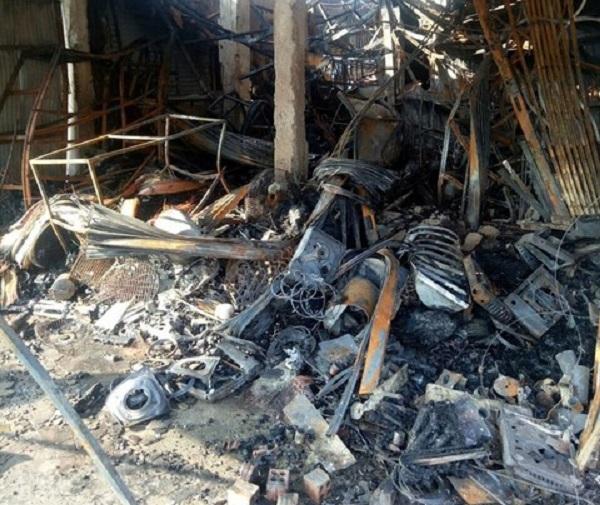 Kiên Giang: Hỏa hoạn thiêu rụi 30 ki-ốt trong đêm - Ảnh 2