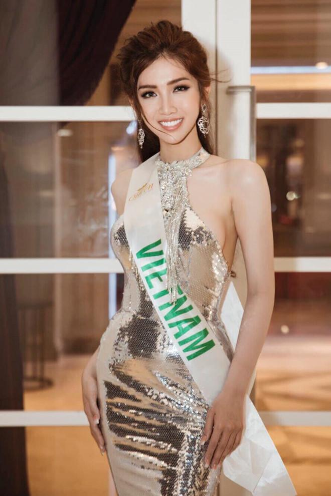Bộ trang phục dân tộc gây tranh cãi của Đỗ Nhật Hà tại Hoa hậu Chuyển giới quốc tế 2019 - Ảnh 1