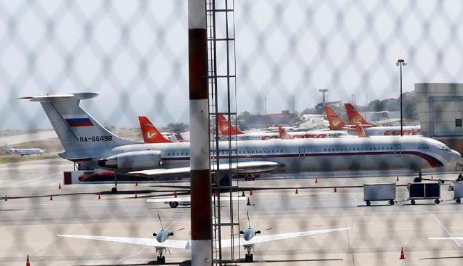 Nghi vấn hai máy bay quân sự Nga chở theo 100 binh sĩ, 35 tấn thiết bị tới Venezuela - Ảnh 1