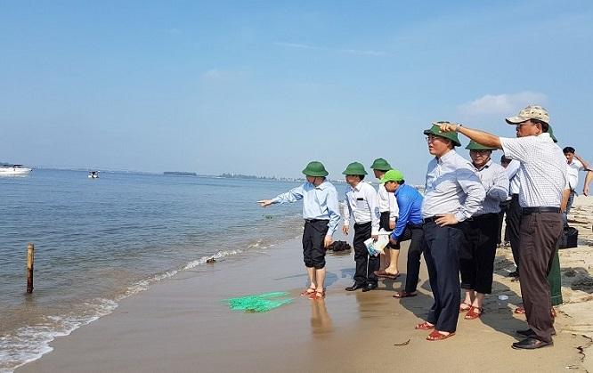 Đảo cát kỳ lạ bất ngờ xuất hiện ở biển Hội An, chuyên gia chưa thể lý giải - Ảnh 2