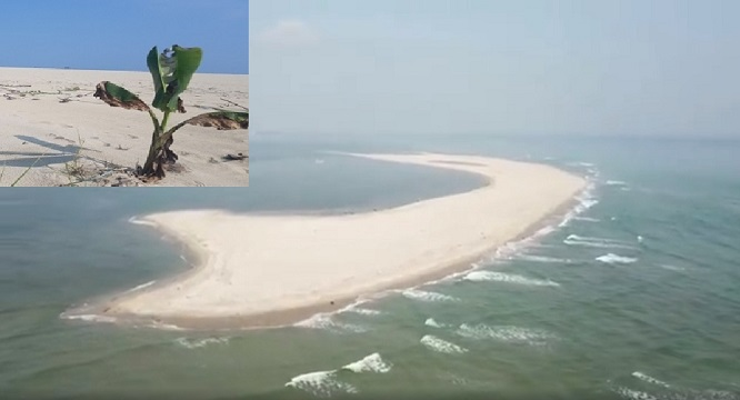 Đảo cát kỳ lạ bất ngờ xuất hiện ở biển Hội An, chuyên gia chưa thể lý giải - Ảnh 1