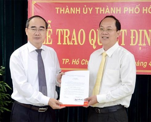 TP.HCM có tân Trưởng ban tổ chức Thành ủy - Ảnh 1