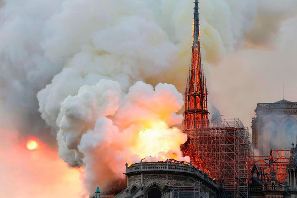 Vụ Nhà thờ Đức Bà Paris: Xác định một số nhược điểm trong cấu trúc - Ảnh 1