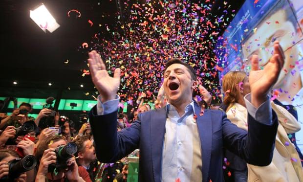 Nga lên tiếng khi diễn viên hài Zelenskiy thắng cử tổng thống Ukraine - Ảnh 1