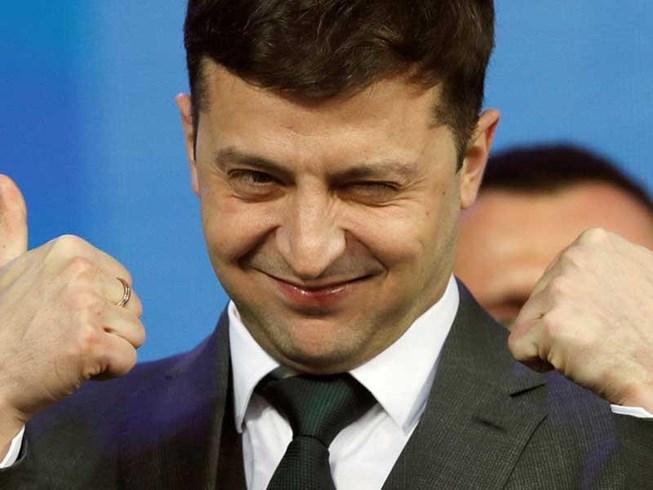 Diễn viên hài vừa thắng cử tổng thống Ukraine bị điều tra do vi phạm luật bầu cử - Ảnh 1