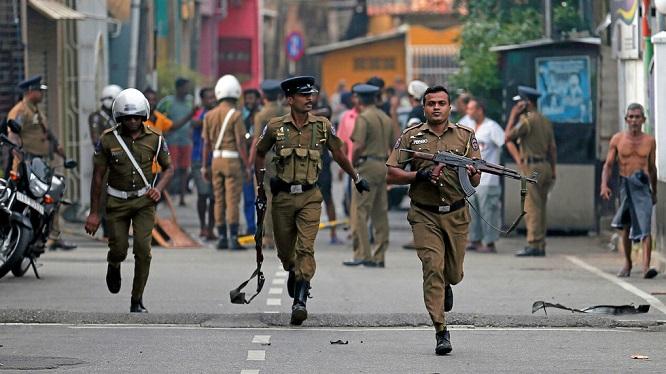 Thêm một vụ nổ xảy ra ngay sát tòa án thị trấn tại Sri Lanka - Ảnh 1