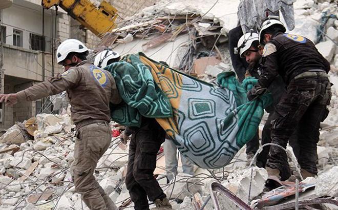 Tổ chức Mũ bảo hiểm Trắng bị tố âm mưu dàn dựng tấn công hóa học tại Syria - Ảnh 2