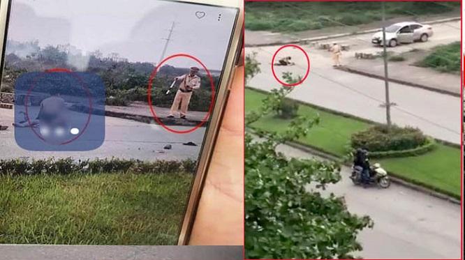 Tạm dừng phân công nhiệm vụ đối với Trung tá CSGT đứng nhìn cô gái bị sát hại ở Ninh Bình - Ảnh 1